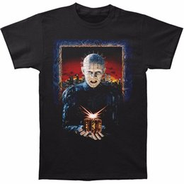 T Shirts For Men NZ - T Shirts With Sayings Merchandising Mens Hellraiser Hell On Earth Men's T-Shirt Short O-Neck Office Tee For Men