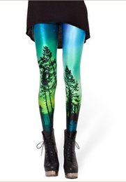 0f080d34db9 Women Aurora Skye Leggings Punk Leggings Casual Print Leggings Plus Size