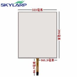Discount machine glass screen - skylarpu 19''inch 4 wire touch screen panel Glass Queuing machine Calling machine industrial equipment handwritten 395mm