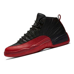 China 12 12s mens basketball shoes Sunrise Bordeaux Dark Grey Wolf Flu Game The Master Taxi Playoffs French Blue Barons Gym Red Sports sneakers cheap game master suppliers