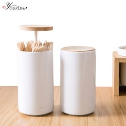 $enCountryForm.capitalKeyWord UK - OYOURLIFE 1pc Creative Portable Automatic Toothpick Holder Toothpick Box Dispenser Home Bar Table Accessories