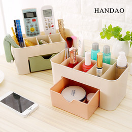 $enCountryForm.capitalKeyWord Canada - 2pce lot Home Drawer Cosmetic Storage Box Makeup Organizer Jewelry Box Lipstick Cases Desktop Finishing Sundries Container