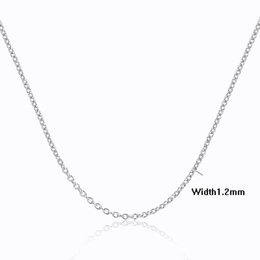 $enCountryForm.capitalKeyWord Canada - 6Sizes Available 35cm-80cm+5cm extended Slim 925 Sterling Silver Cut Cross Chain Necklaces Women Girls Jewelry kolye collares