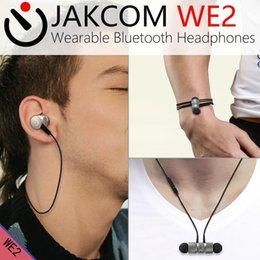 Wireless Headphones Cable Canada - JAKCOM WE2 Wearable Wireless Earphone Hot Sale in Headphones Earphones as fiio x1 cable buddies ear cushions