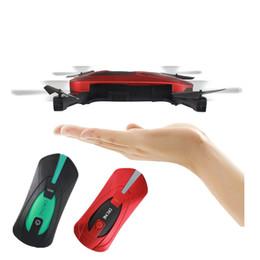 $enCountryForm.capitalKeyWord Australia - 2.4G Portable JY018 Foldable Mini Selfie Drone Pocket Folding Quadcopter Altitude Hold Headless WIFI FPV 0.3-2MP Camera RC Helicopter Toys