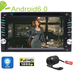 Din stereo gps DvD camera online shopping - In Dash Double Din Head Unit Quad core Android6 GPS Stereo quot Car DVD Player Bluetooth GPS RDS Radio WiFi Backup camera
