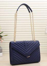 Double hanDbags online shopping - Luxury Designer Shoulder Bags pu Leather double gold chains Diamond Lattice evening bag cross body bag handbags purse totes bag