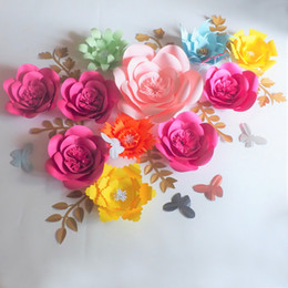 Large Paper Flower Decoration Online Shopping Large Paper Flower