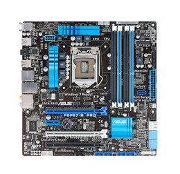Wholesale For Asus P8P67 M PRO Intel Motherboard LGA P67 Chipset SATA Gb s USB Micro u ATX i3 i5 i7 DDR3 Gb Systemboard
