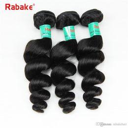 $enCountryForm.capitalKeyWord Australia - Rabake 8-28 inch 3 4 Bundles Loose Wave Raw Indian Hair Full Head Unprocesses Virgin Human Hair Weave Extensions Dyeable Double Weft Deal