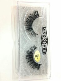 $enCountryForm.capitalKeyWord Canada - 3D False Eyelashes Real Mink Hair Hand made Fake lashes Natural Long Thick Fake Eyelash Pro Makeup for Eyes 18 styles DHL Free YL004