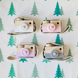 $enCountryForm.capitalKeyWord NZ - high quality Lovely Cute Wooden Camera Toys For Baby Kids Room Decor Furnishing Articles Child Birthday new year Gifts Nordic European Style