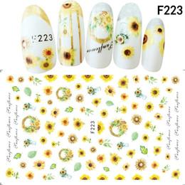 $enCountryForm.capitalKeyWord Canada - Mtssii 1pcs Nail Sticker Cute Cat Flower Water Transfer Decal Sliders Nail Art Decoration Tattoo Manicure Wraps Tools Tips