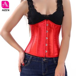 $enCountryForm.capitalKeyWord NZ - AIZEN Plus Size 6XL Body Shapewear Women Gothic Clothing Corset Underbust Waist Cincher Sexy Bridal Corsets and Bustiers Pink