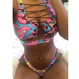 656f1d90115b7 2018 HOT Sale Brazilian Sexy Thong Bikini Lace Up Swimwear Women bikini set  two piece Swimsuit Biquini Bandage Bathing Suit