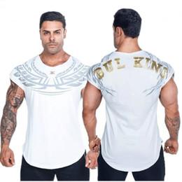 $enCountryForm.capitalKeyWord Australia - 2018 New Cotton sport Short Sleeve T-shirt Men Gyms Fitness Crossfit Clothing Man Workout Gyms T Shirt Brand Running T-shirt