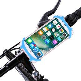 Dayanıklı Kaymaz Silikon Bisiklet Telefon Dağı Cep Cep Telefonu Tutucu Çoğu Akıllı Telefonlar ve Bisiklet için Evrensel Cradle araba