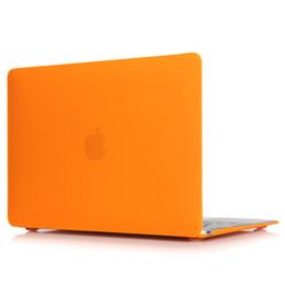 Discount macbook pro 13 matte case - Matte Rubberized Hard Case Cover for Macbook ProLaptop Shell- Pro 13 inch Orange