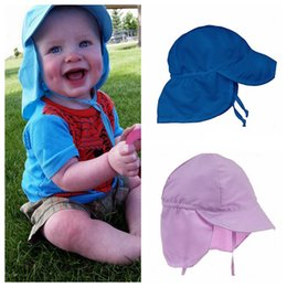 Sun capS for girlS online shopping - New Arrival Outdoor Ultraviolet proof Hat Child Summer Sun Hat Kids polyester Caps For Kids Boy Girls Sun proof Hat