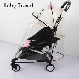 Discount infant stroller cover - Stroller Accessories Rain Cover for Babyzen Baby Time Windproof Waterproof Infant Pram Pushchair Universal Cover