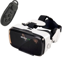 Discount virtual reality 3d video glasses Moveksi BoBo VR Z4 3D VR GLASS Head Mount Virtual Reality 3d Video Glasses for 4~6''Android iOS Smartphones wi