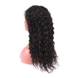 China Brazilian Wet and Wavy Lace Front Human Hair Wigs For Black Women Cheap Glueless Natural Water Wave Lace Front Wigs With Baby Hair cheap french wet wavy human hair suppliers