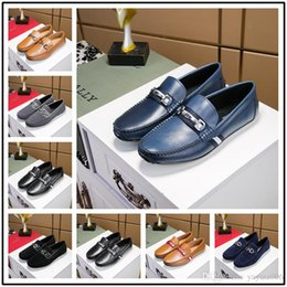 $enCountryForm.capitalKeyWord Australia - 18ss Top Quality brand Formal Dress Shoes For Gentle Men Black Genuine Leather Shoes Pointed Toe Men's Business Oxfords Casual Shoes