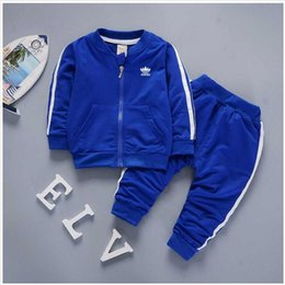 BaBy Blue tracksuit online shopping - brand baby boys and girls tracksuits kids tracksuits kids T shirts pants sets kids clothing hot sell new fashion summer
