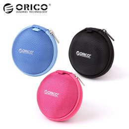 eva key NZ - ORICO Portable Earphone Case Bag Box EVA for USB Cables Chargers Power Banks U-disk Key Storage Mini Bag Box