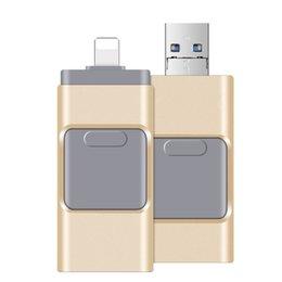 256GB 128GB 64GB 3 in 1 USB-Stick USB-Speicher Stick U Disk OTG für Andriod iOS PC