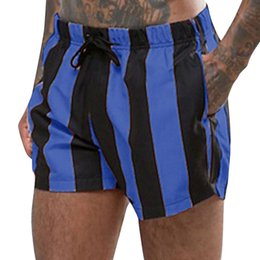 96df5c0109 Mens Swimming Shorts Men Swimsuit Swimwear Swimming Trunks Briefs Beach  Shorts Striped Underpant Hot New 2018 zwembroek heren