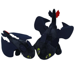 $enCountryForm.capitalKeyWord NZ - 25-30-40-60cm How To Train Your Dragon Night Fury Plush Toy Toothless Stuffed Doll Toys Gift for Children