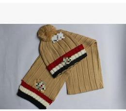 $enCountryForm.capitalKeyWord Canada - Quality Men And Women Designer Hat Scarf Sets Warm European High-end Luxury Brand Hat Scarf Fashion Accessories