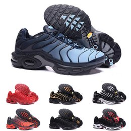 air plus shoes 2018 - 2018 New TN Plus Shoes air Fashion Increased Ventilation Casual Trainers Olive Red Blue Black Sneakers discount air plus