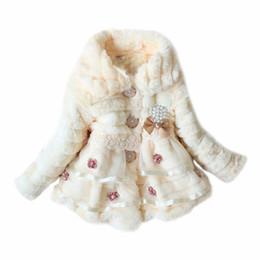 $enCountryForm.capitalKeyWord UK - Baby Kid Girl Faux Fur Fleece Coat Jacket Winter Xmas Party Snowsuit Outwear Top for infant toddle child