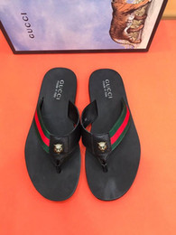 Sale Leather Sandals Canada - HOT SALE flip flops SANDALS 207505 Men Slippers Slippers Drivers Sandals Slides Sneakers Leather Slipper
