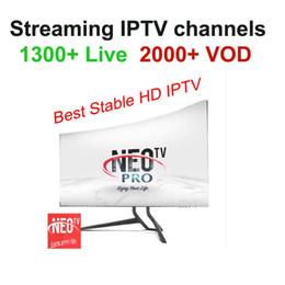 1 Jahr Neotv PRO 1300 Kanäle QHDTV IPTV Europa Arabisch Französisch Deutschland IPTV Abonnement Code LiveTV für M3U MAG254 Android Smart TV