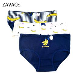 a582048956c ZAVACE 3pcs lot Cotton underwear women cartoon banana printing cute cotton  sexy briefs women underwear panties Lingerie