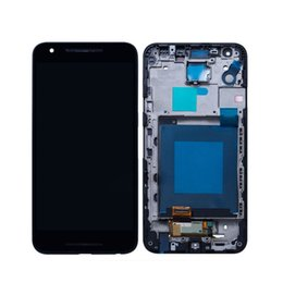 Google Touch Screen Australia - Original For LG Google Nexus 5X H790 Touch Screen Digitizer LCD Display With Frame Assembly 5.2inch Black Screen Repair Parts Wholesale