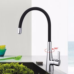black pull out kitchen faucet 2019 - New variety of color kitchen faucet 360 rotating chrome silver swivel kitchen sink Mixer tap vanity faucet Single Handle