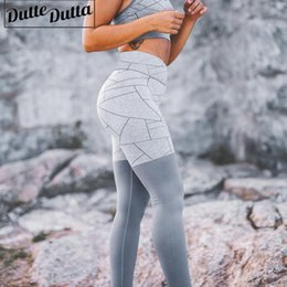 high waist printed yoga pants NZ - Printed Yoga Pants High Waist Athletic Leggings Push Up Gym Leggings Fitness Sport For Women Active Wear