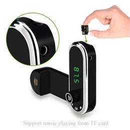 Discount iphone car holder transmitter - Hands Free Wireless Bluetooth FM Transmitter TF AUX Modulator Car Kit MP3 Player Air vent Holder Stand Car Phone Holder