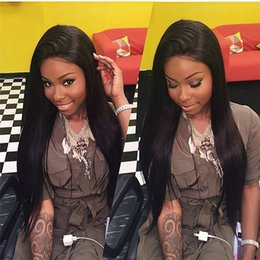 $enCountryForm.capitalKeyWord NZ - Long straight lace front wig natural looking hair glueless lace front wig full hair lace wig for african americans women 12-26inch