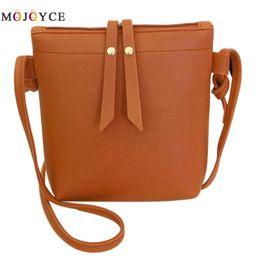 5d9fdce0f607 22 X 17 X 4.5cm PU Leather Women Small Messenger Bags Pure Casual Zipper Shoulder  Bag Lady Handbags Bolsa Feminina