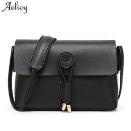 Wholesaler Designer Handbags Canada - Aelicy High Quality Small Casual Female CrossBody Bag PU Leather Ladies Women's Purses And Hand Bags Fake Designer Handbags