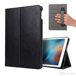 $enCountryForm.capitalKeyWord NZ - Luxury Business PU Leather Case With Strap Card Slot Kickstand Cover For iPad 2 3 4 5 6 Air 2 new pro 9.7 10.5 12.9 mini 1 2 3 4 OppBag