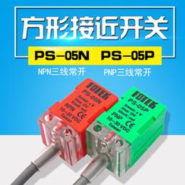 FOTEK Interruttori di prossimità induttiva Sensori PS-05P PS-05N PL-05P PL-05N DC 3-Wire 10-30 VDC Nuovo anno di garanzia di un anno in Offerta