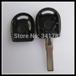 Keys Chip Shell Australia - 20pcs lot for blank transponder key shell for Vw, key case for vw (can install chip) with the best price 0301247 car