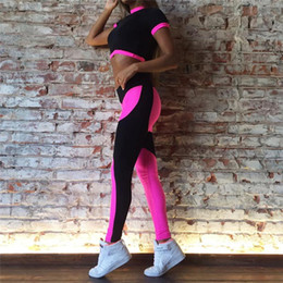 $enCountryForm.capitalKeyWord NZ - Women Breathable Fitness Sports Yoga sets Dance Weight Loss Square Dance set Yoga Suits Workout Clothes Long Jumpsuit