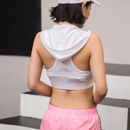 $enCountryForm.capitalKeyWord NZ - Workout With Hat Sports Top Gym Women Sport Shirt Fitness Women Tank Yoga Female Breathable Sport Shirts Sleeveless Running Top
